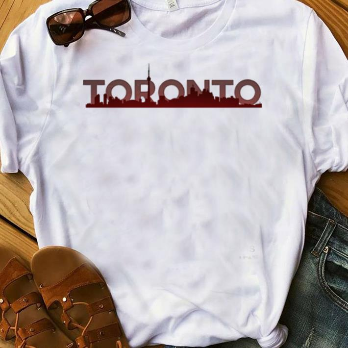 a0ec10e3927 Hot Toronto Skyline Toronto Raptors Shirt, hoodie, sweater ...