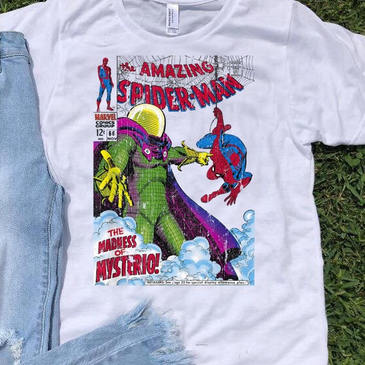 68f3e278f Marvel Comics Spider Man Mysterio shirt, hoodie, sweater, longsleeve ...