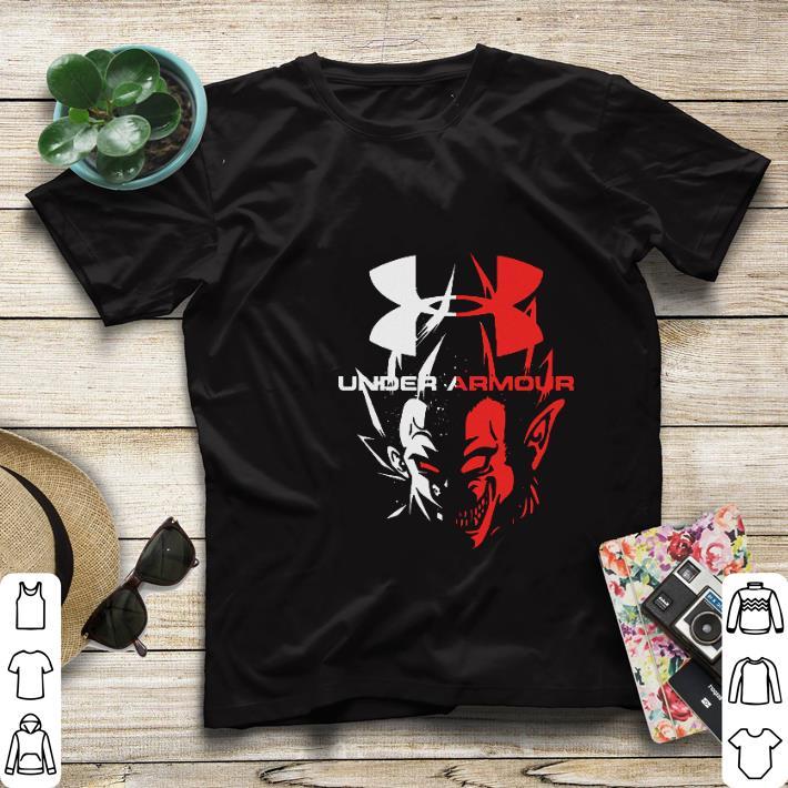 Pretty Under Armour Dragon Ball Vegeta shirt