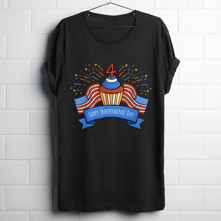 4th Of July Birthday Cake Happy Independence Day shirt