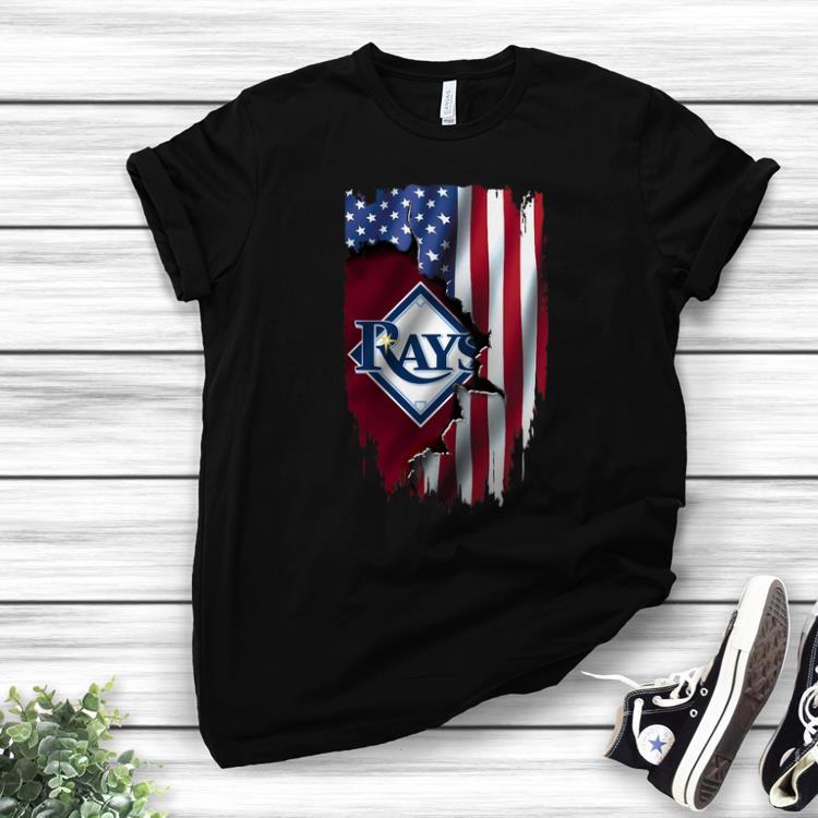 American Flag MLB Mashup Tampa Bay Rays