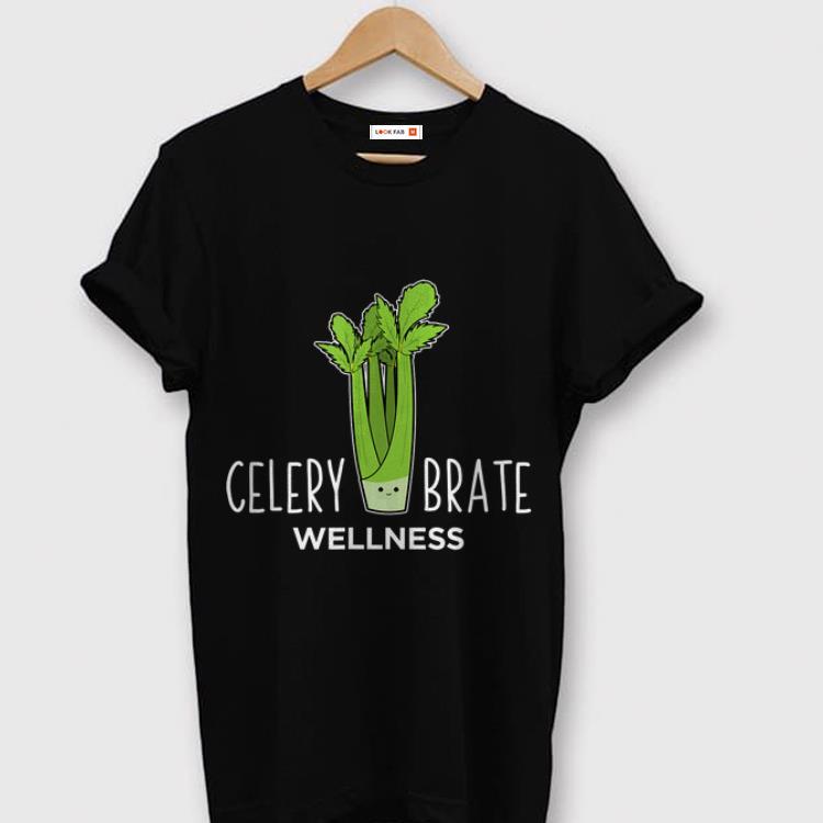 Celerybrate Wellness Cute Vegetable Puns shirt