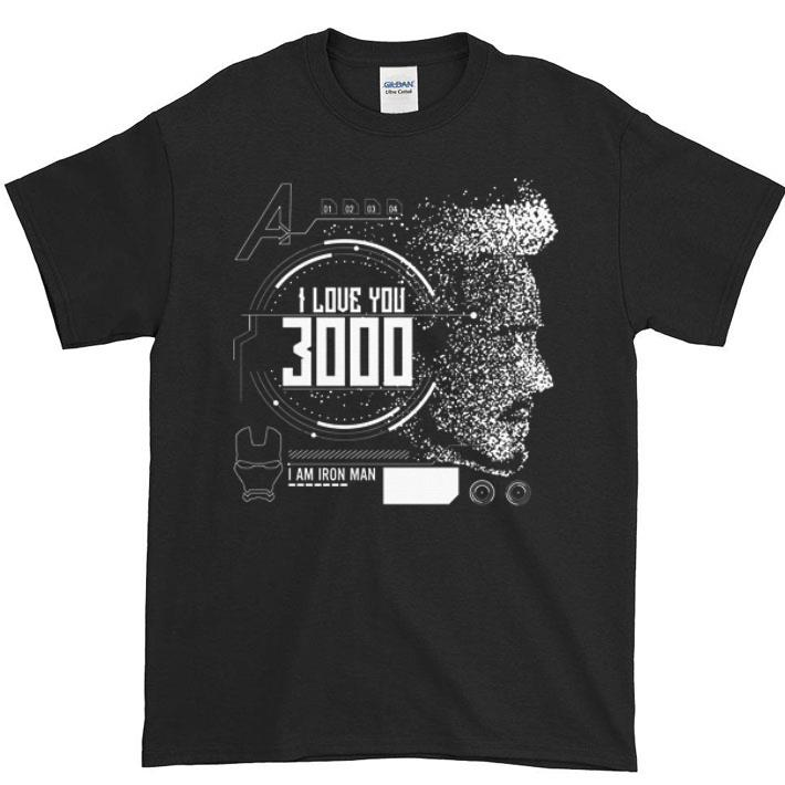 e727626d6 Hot I love you 3000 I am Iron man Marvel shirt, hoodie, sweater ...
