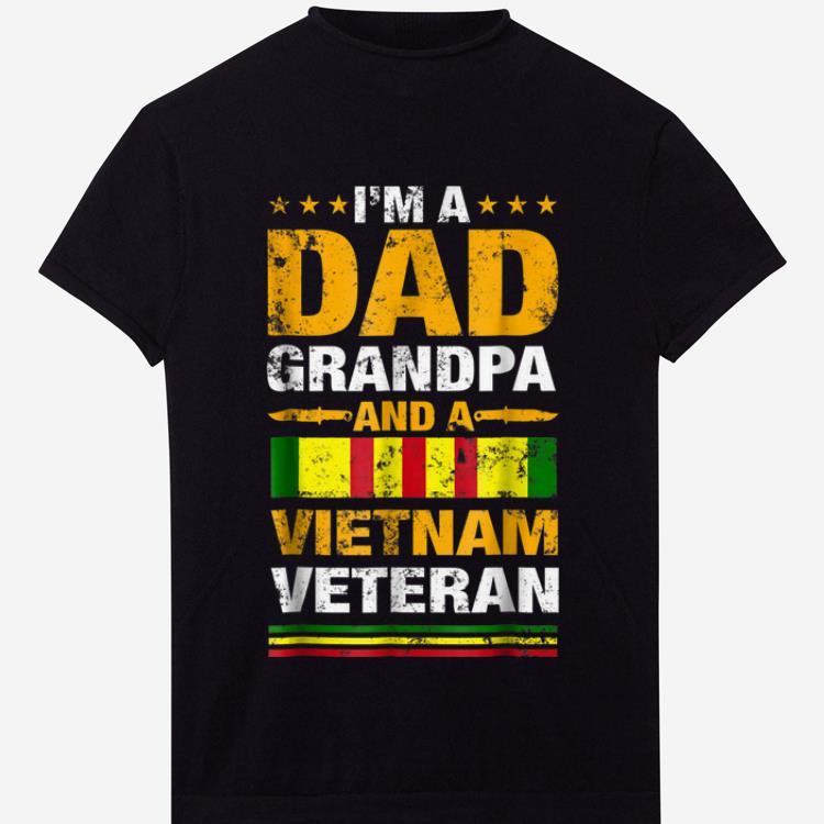 3c73acbe9 I'm A Dad Grandpa And A Vietnam Veteran shirt, hoodie, sweater ...