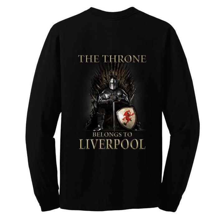 Original Game Of Thrones The Throne Belongs to Liverpool shirt