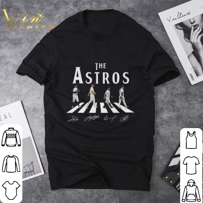 The Astros Houston Astros Abbey Road signatures shirt