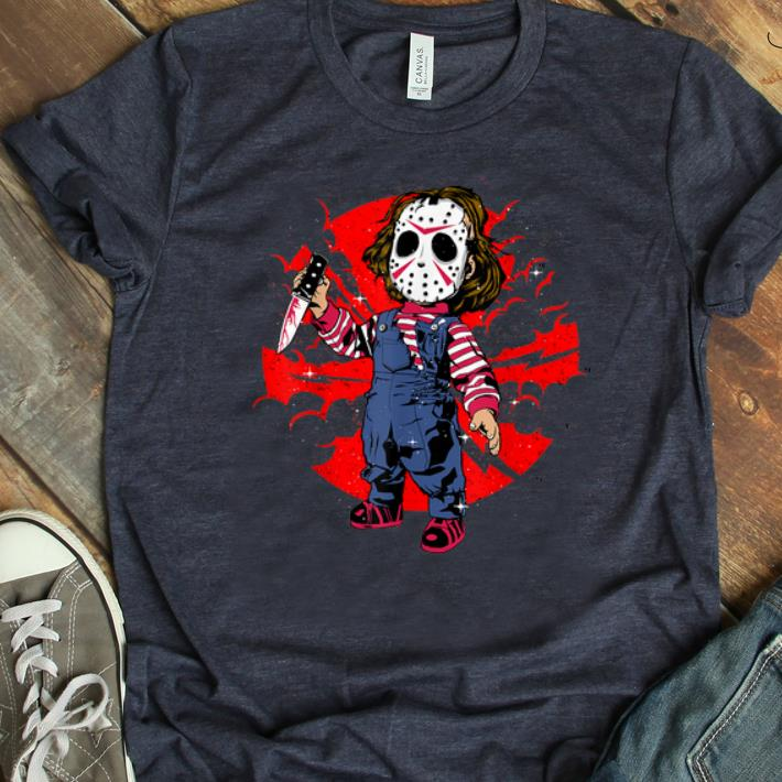 Awesome Horror Mashup Jason Voorhees And Chucky Shirt 1 1.jpg