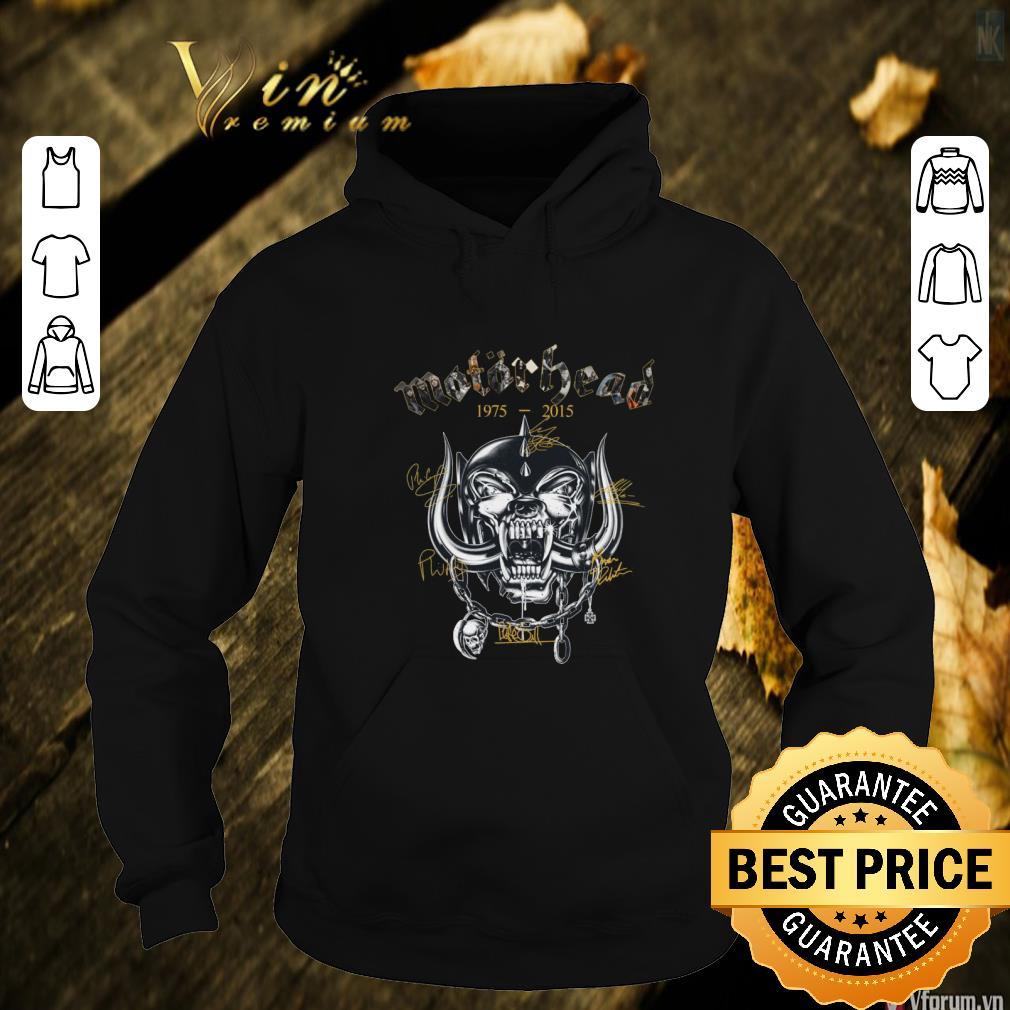 Awesome Motorhead 1975-2015 signatures shirt