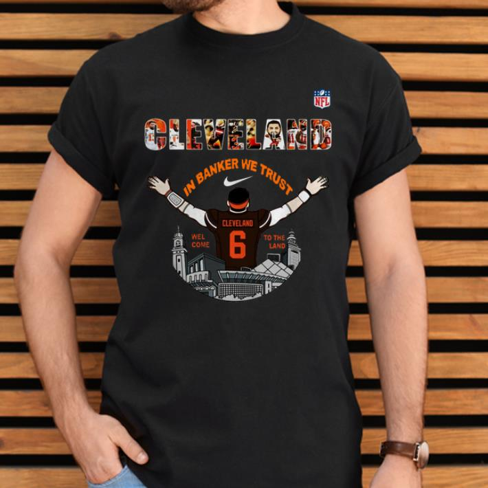 pretty nice 3ab34 f9995 Nice Baker Mayfield Player Cleveland Browns NFL 2019 shirt