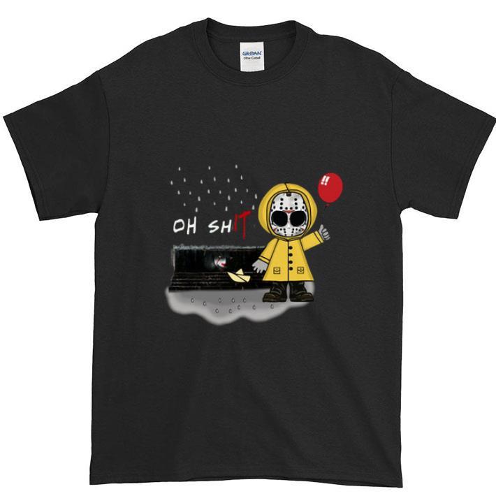 Nice Pennywise Oh Shit Jason Voorhees Georgie Denbrough Shirt 1 1.jpg