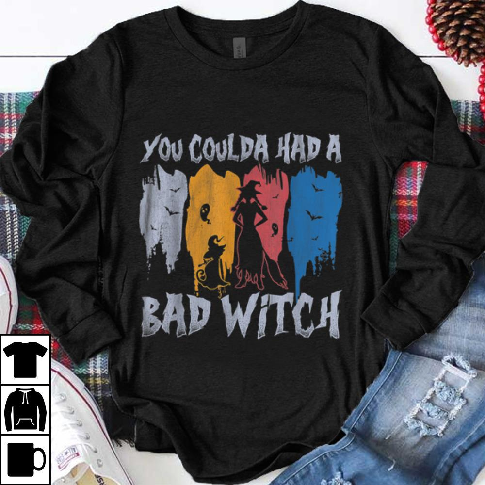 Original You Coulda Had A Bad Witch Halloween 70s Vintage Shirt 1 1.jpg