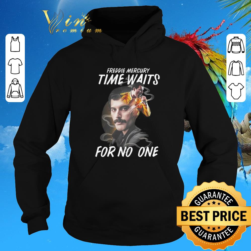 Pretty Freddie Mercury time waits for no one shirt sweater