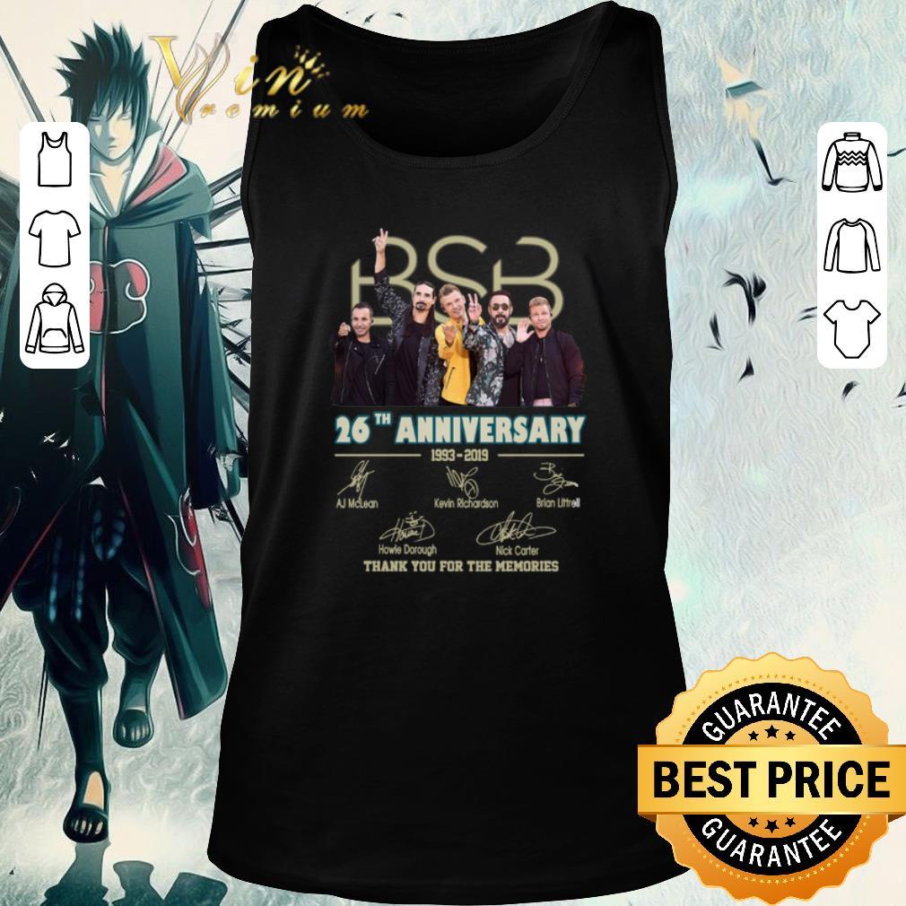 Backstreet Boys Christmas Sweater.Top Backstreet Boys Bsb 26th Anniversary 1993 2019 Signatures Shirt