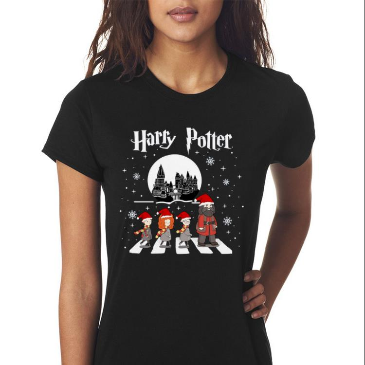 Awesome Harry Potter Walking On Abbey Road Christmas Sweater 3 1.jpg