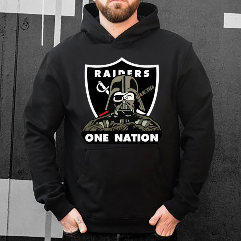 Official Darth Vader NFL Oakland Raiders One Nation shirt