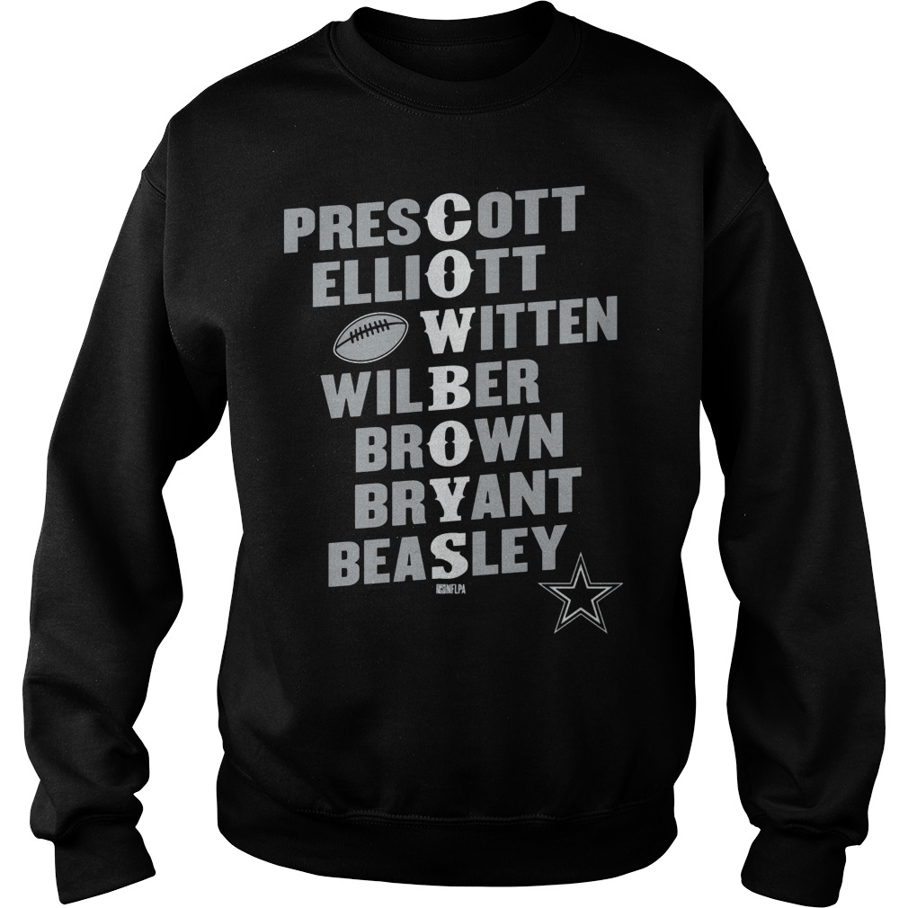 Dak Prescott Players In Team Name Sweater