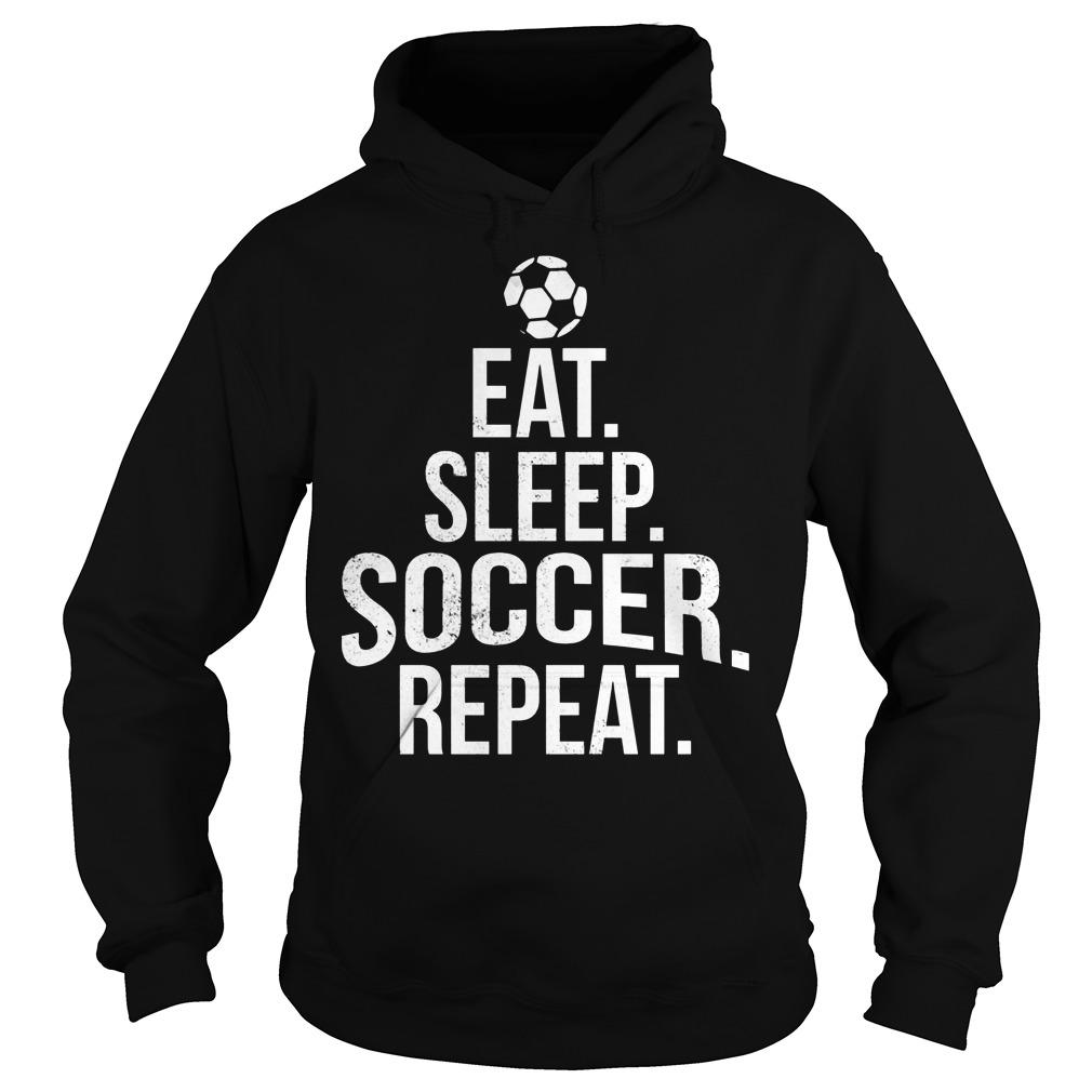 Eat Sleep Soccer Hoodie