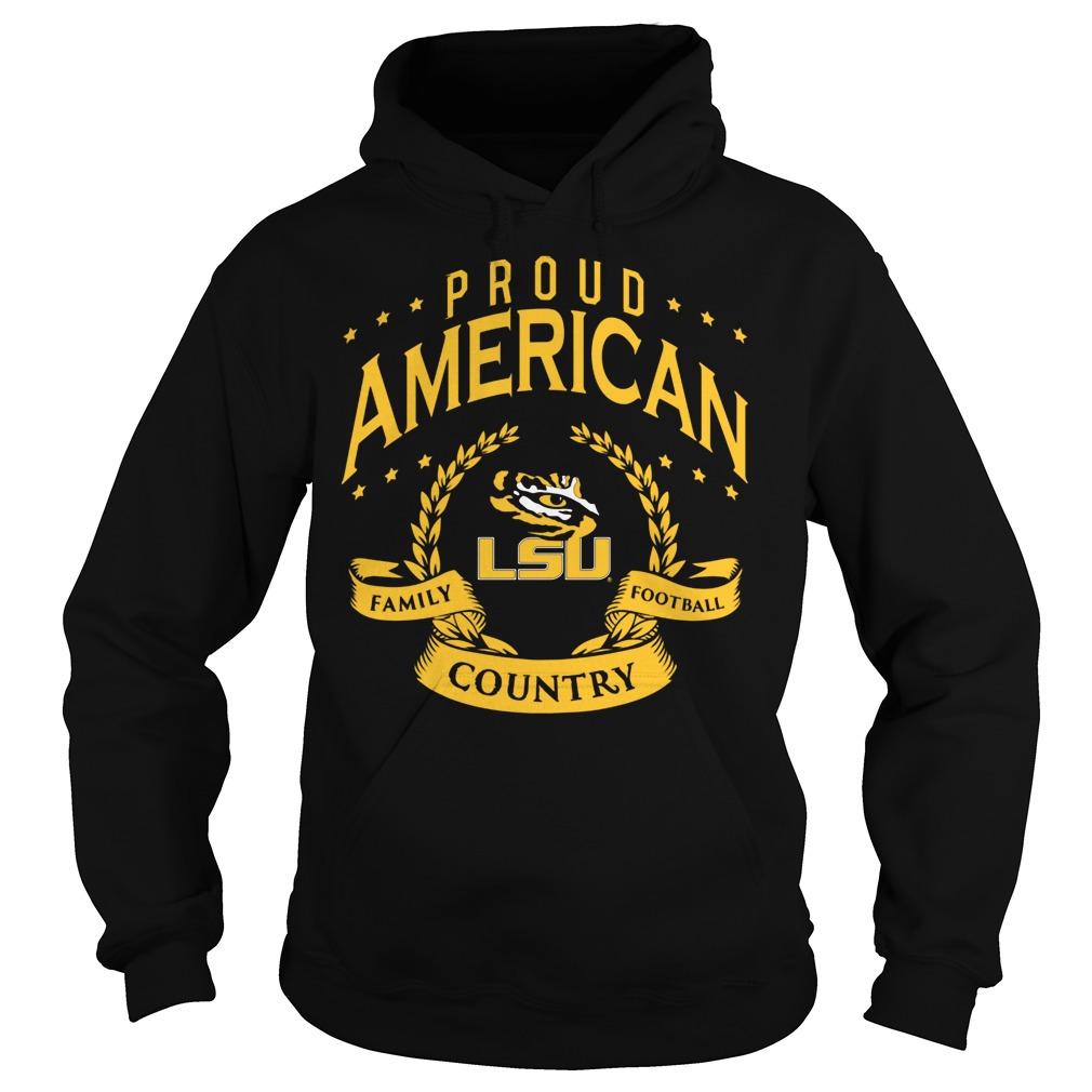 Proud American Lsu Hoodie