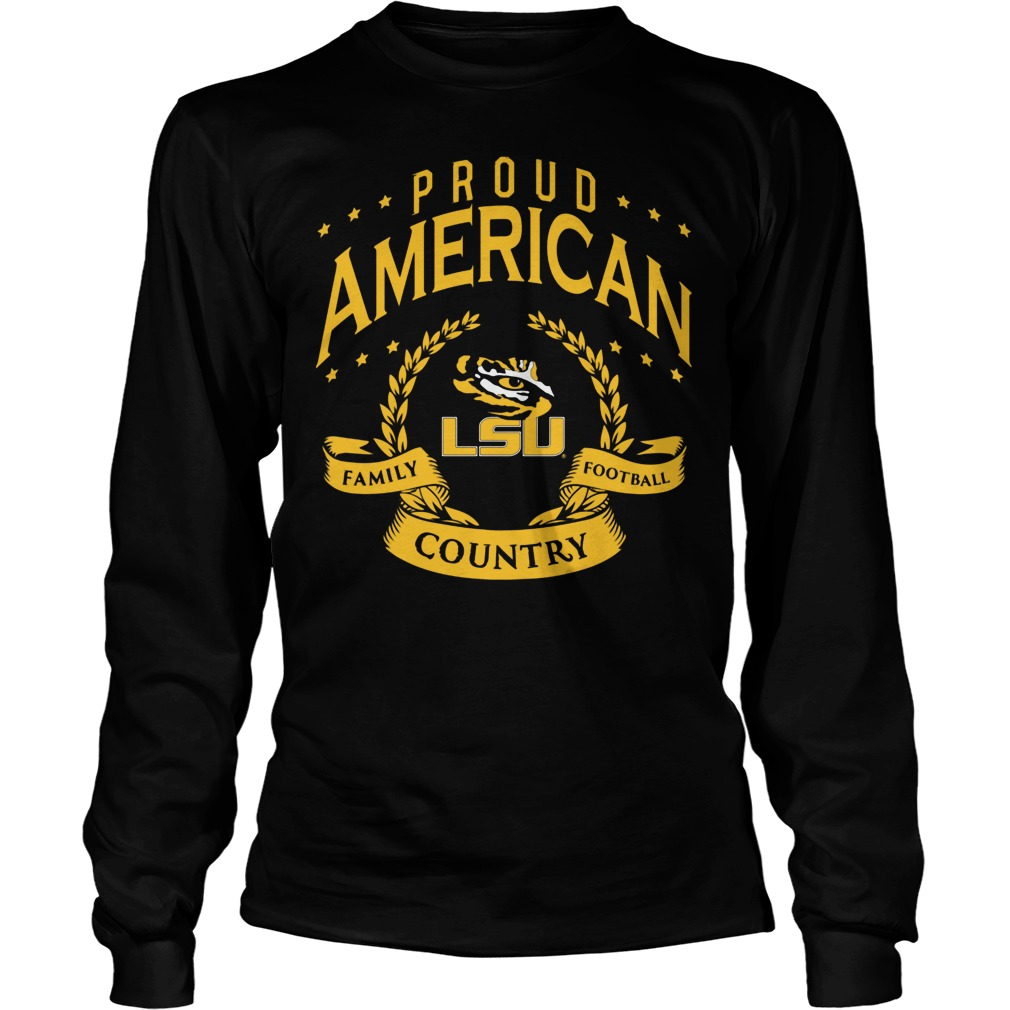Proud American Lsu Longsleeve