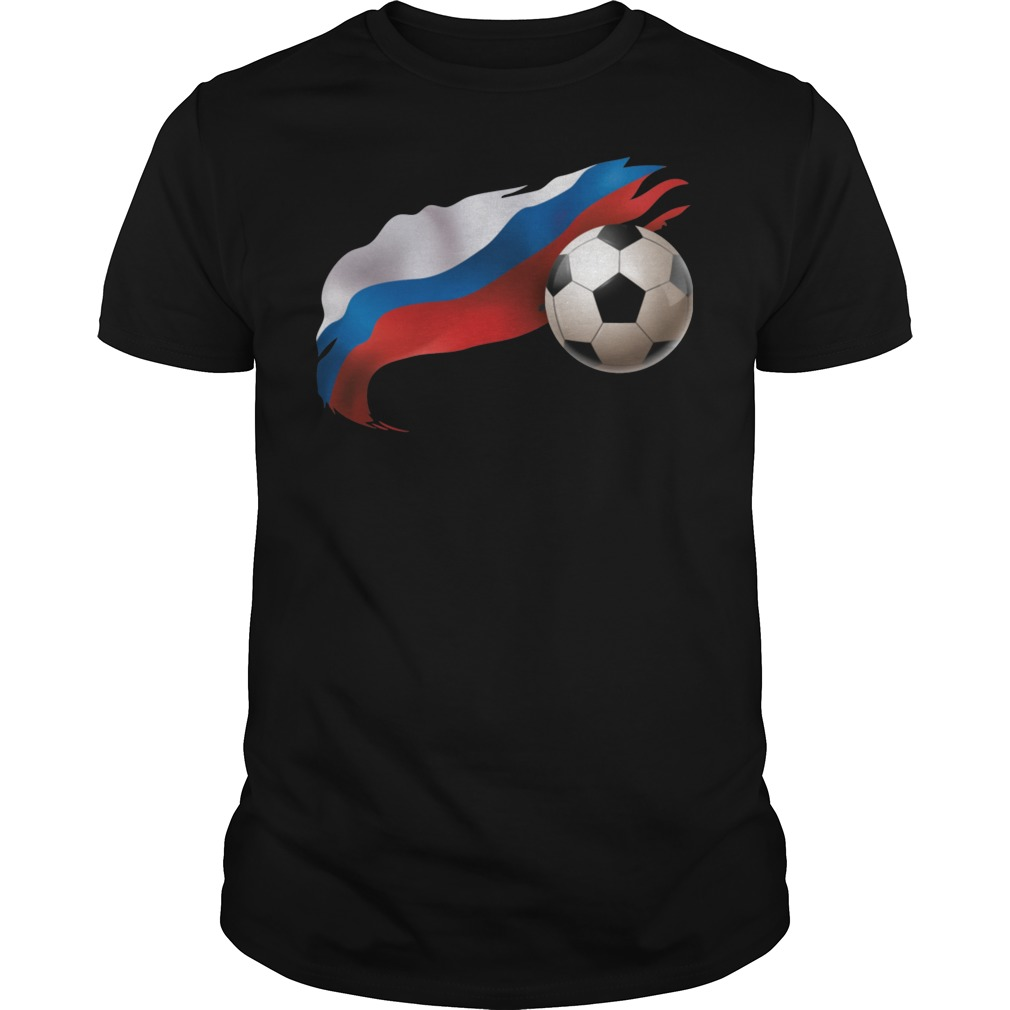Russia Soccer Guy Tee