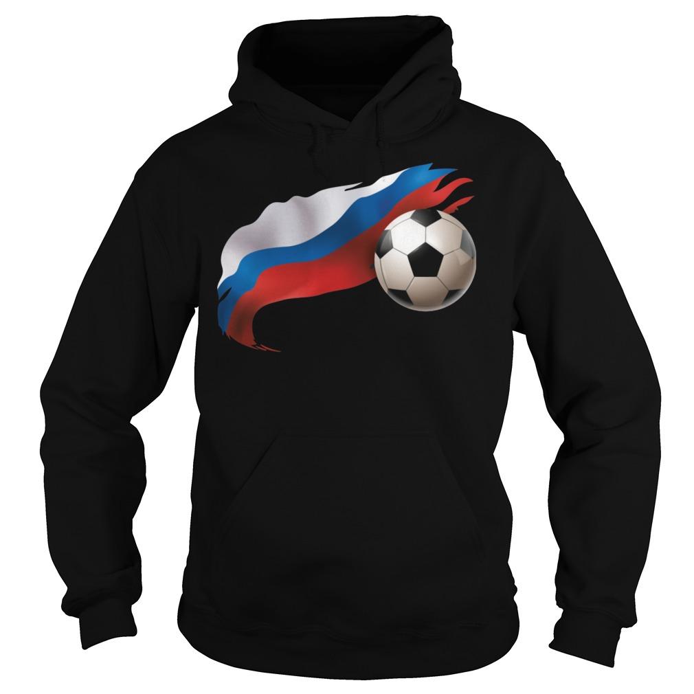 Russia Soccer Hoodie