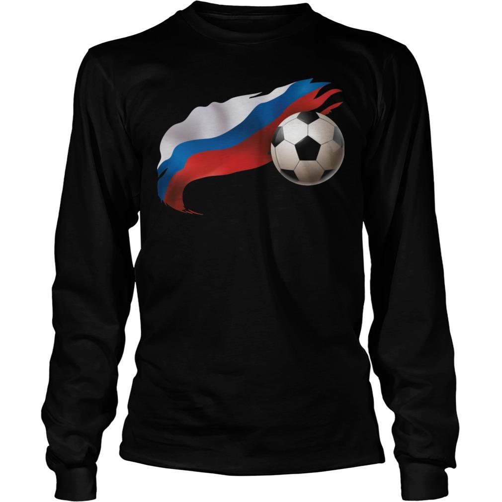 Russia Soccer Longsleeve