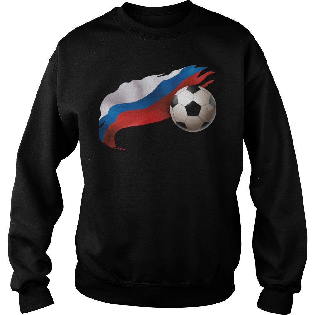 Russia Soccer Sweater