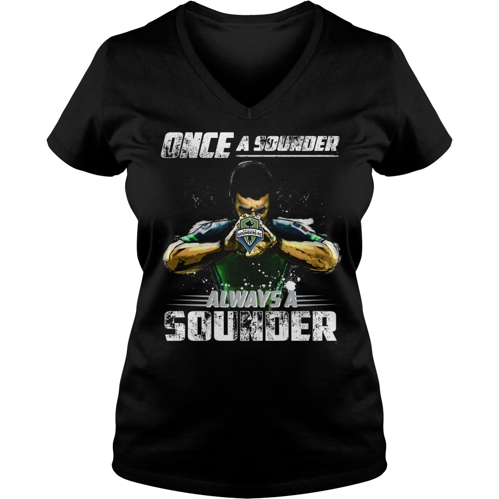 Seattle Sounder Ladies Vneck