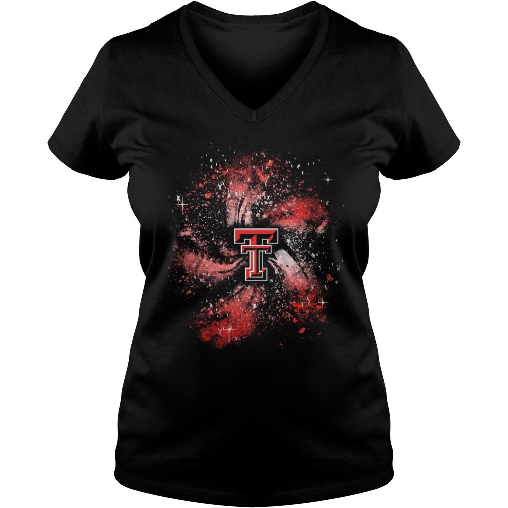 Texas Tech Red Raiders Galaxy Ladies Vneck