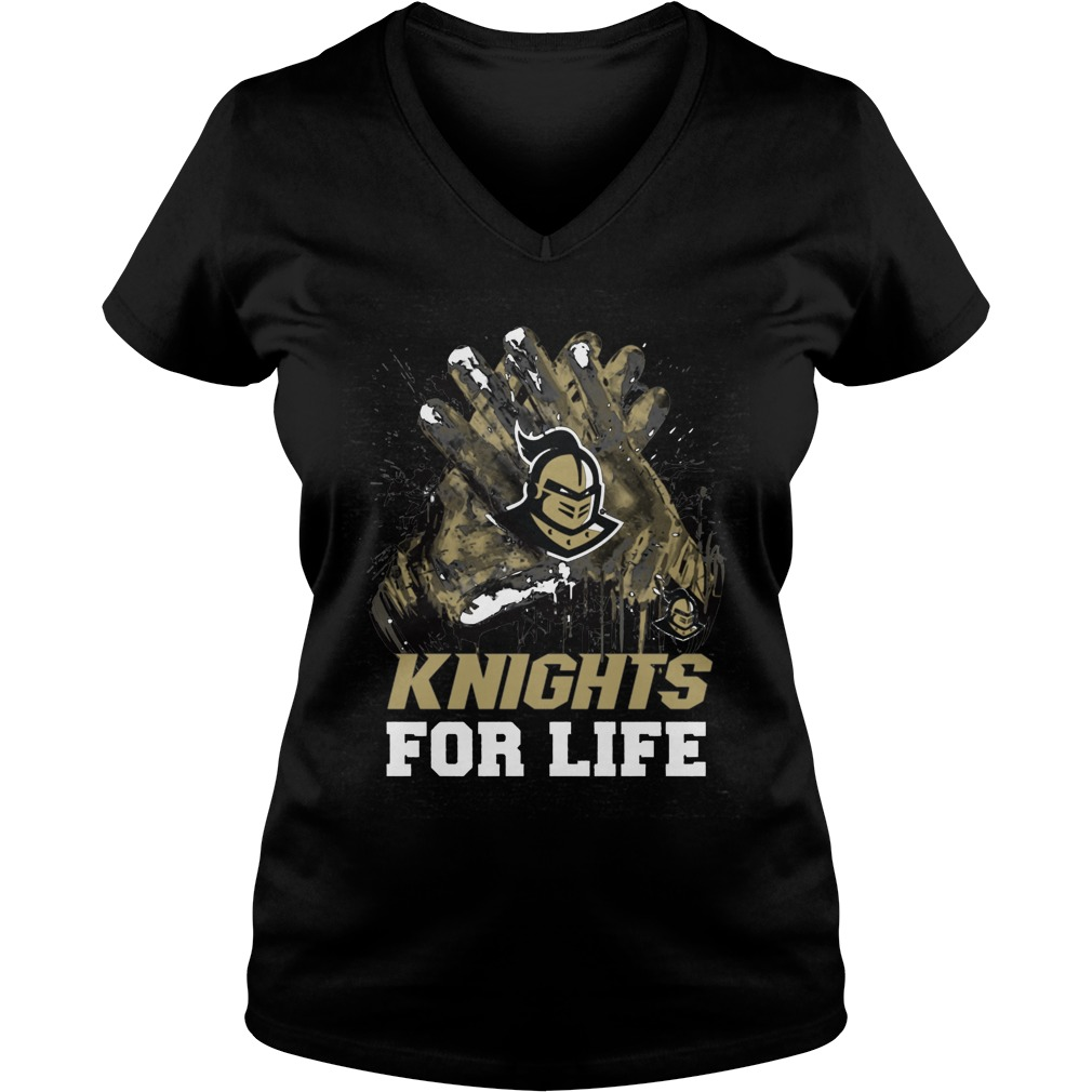 Ucf Knights For Life Ladies Vneck