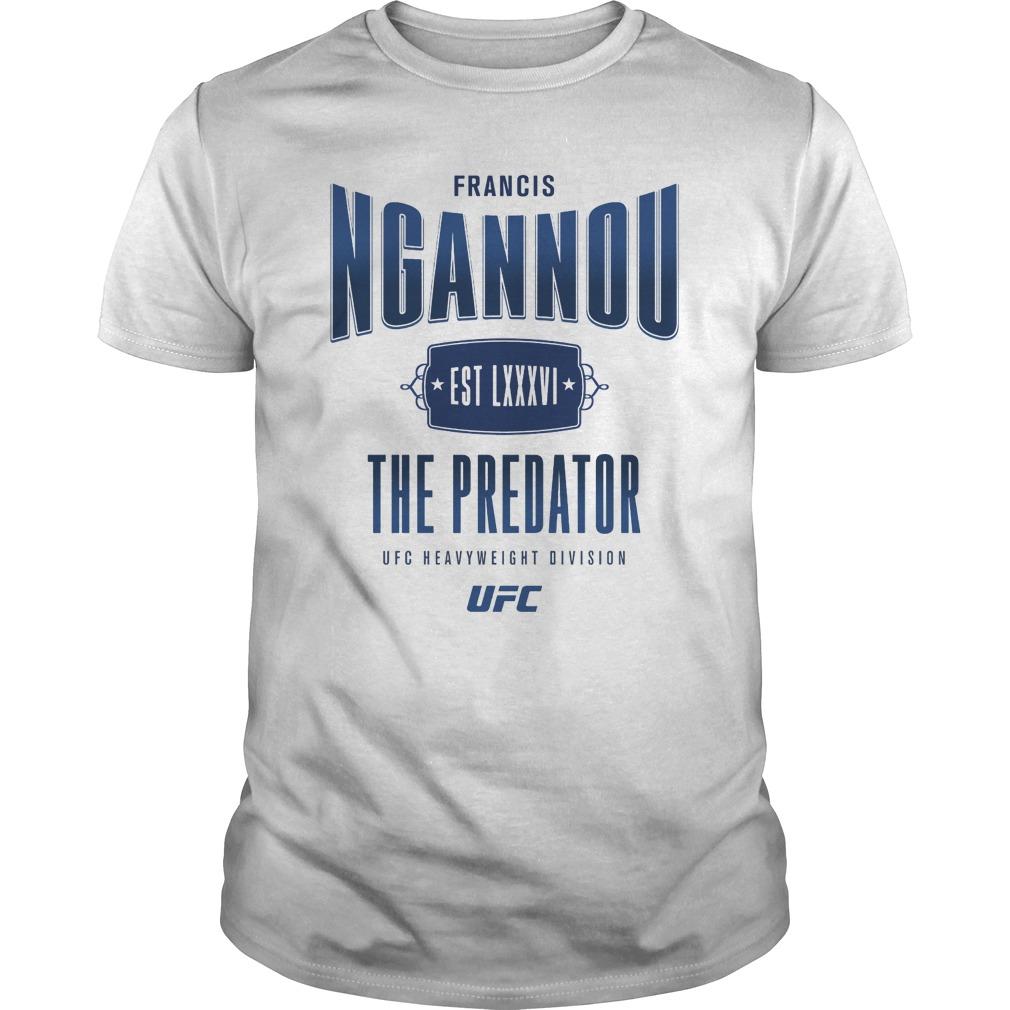 Ufc Francis The Predator Ngannou Guy Tee