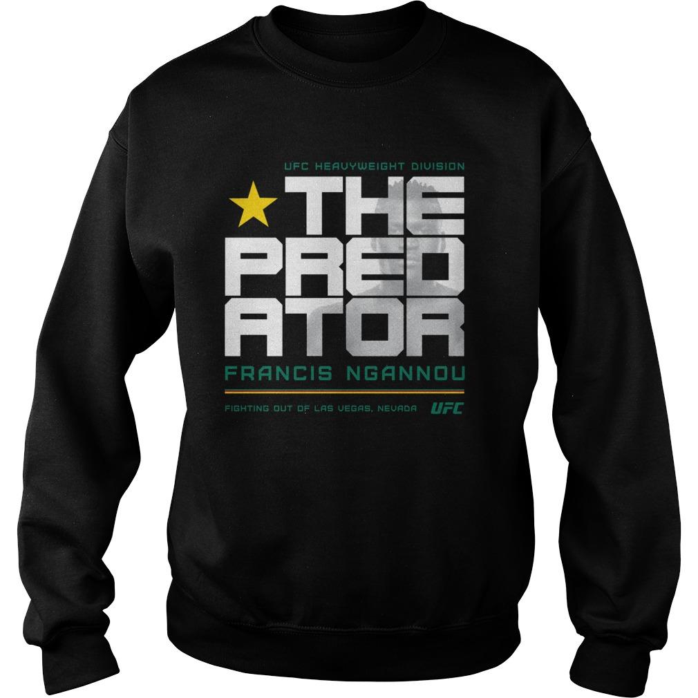 Ufc Francis The Predator Ngannou Silhouette Sweater