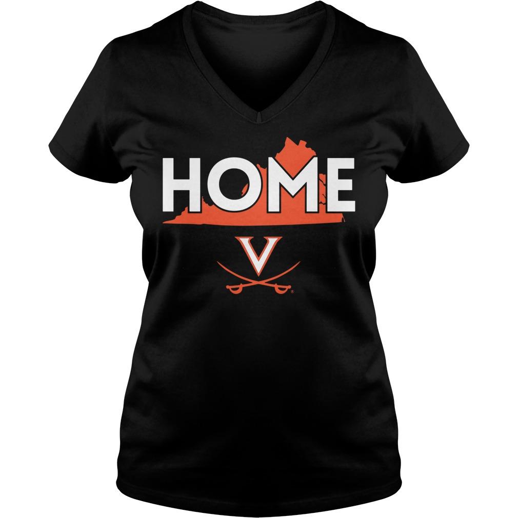 Virginia Cavaliers Ladies Vneck