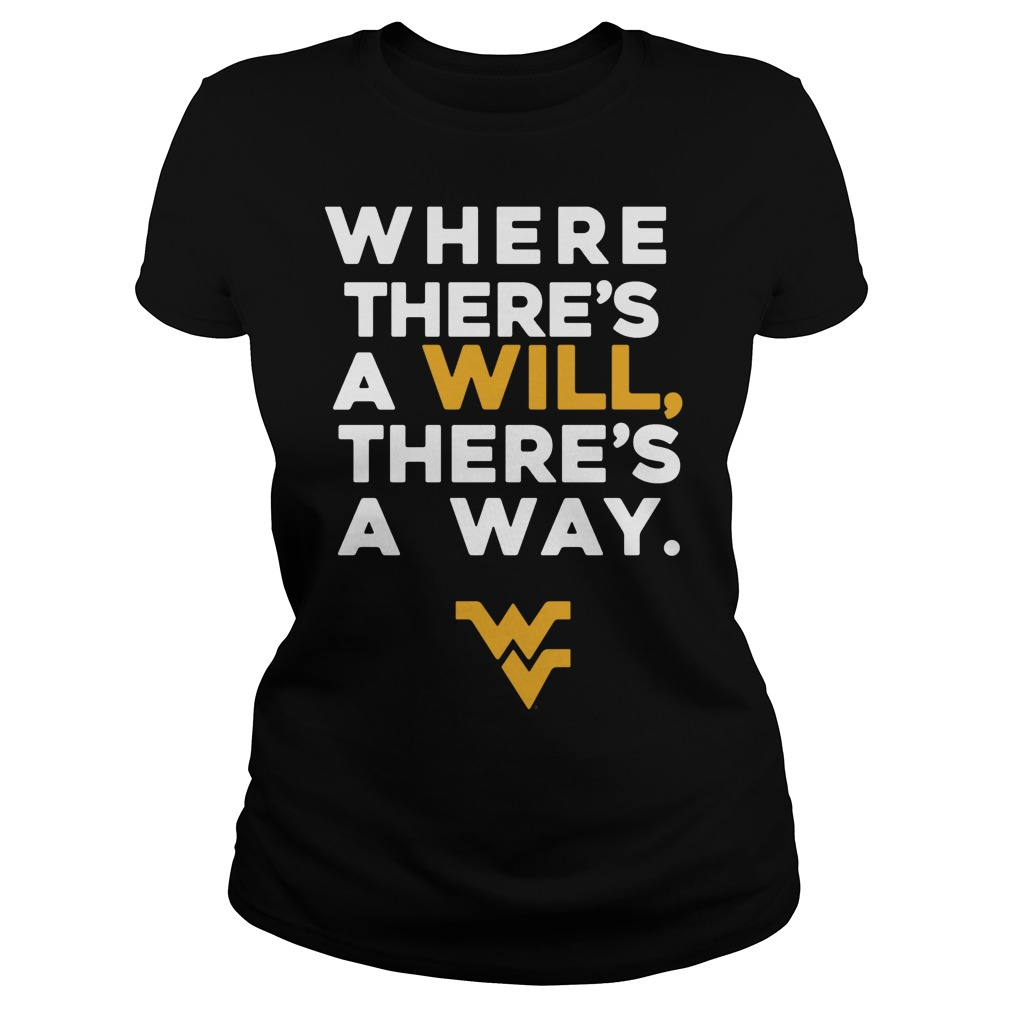 We Always Find A Way To Win Lets Go Mountaineers Ladies Tee
