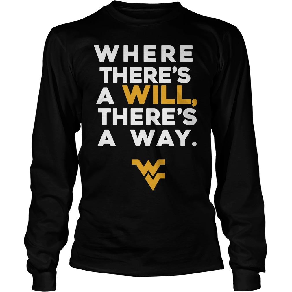 We Always Find A Way To Win Lets Go Mountaineers Longsleeve