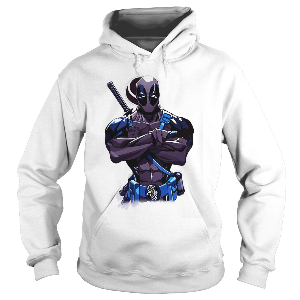 Giants Deadpool Chicago White Sox Hoodie