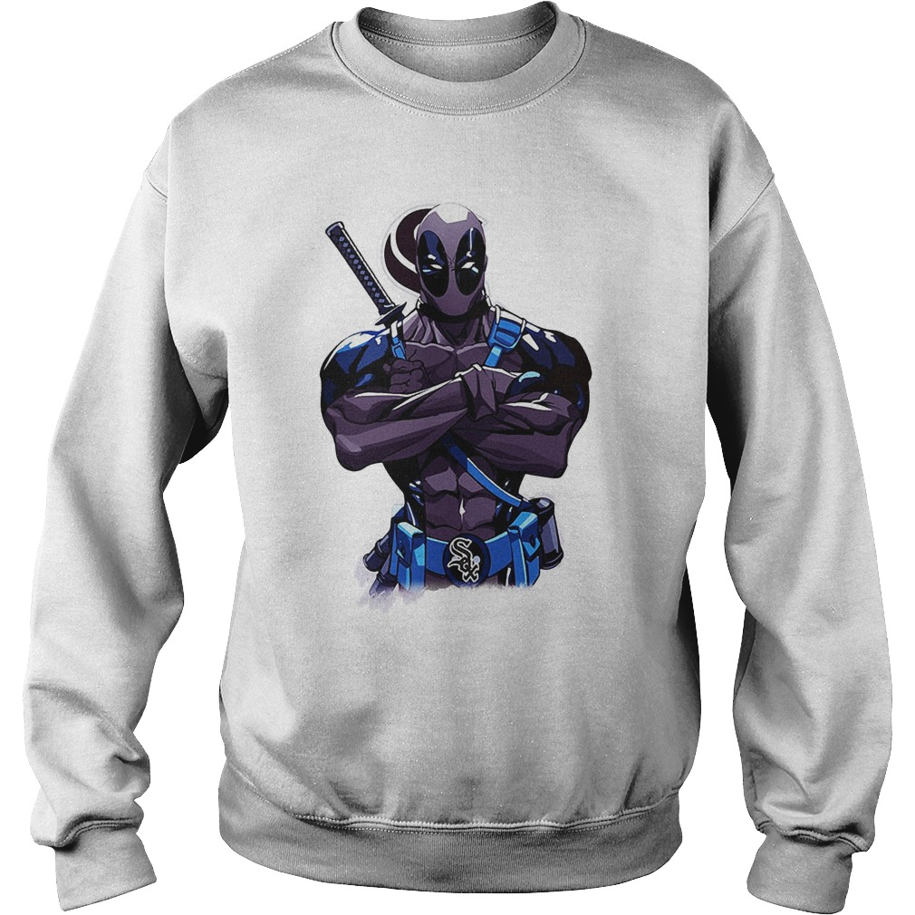 Giants Deadpool Chicago White Sox Sweater