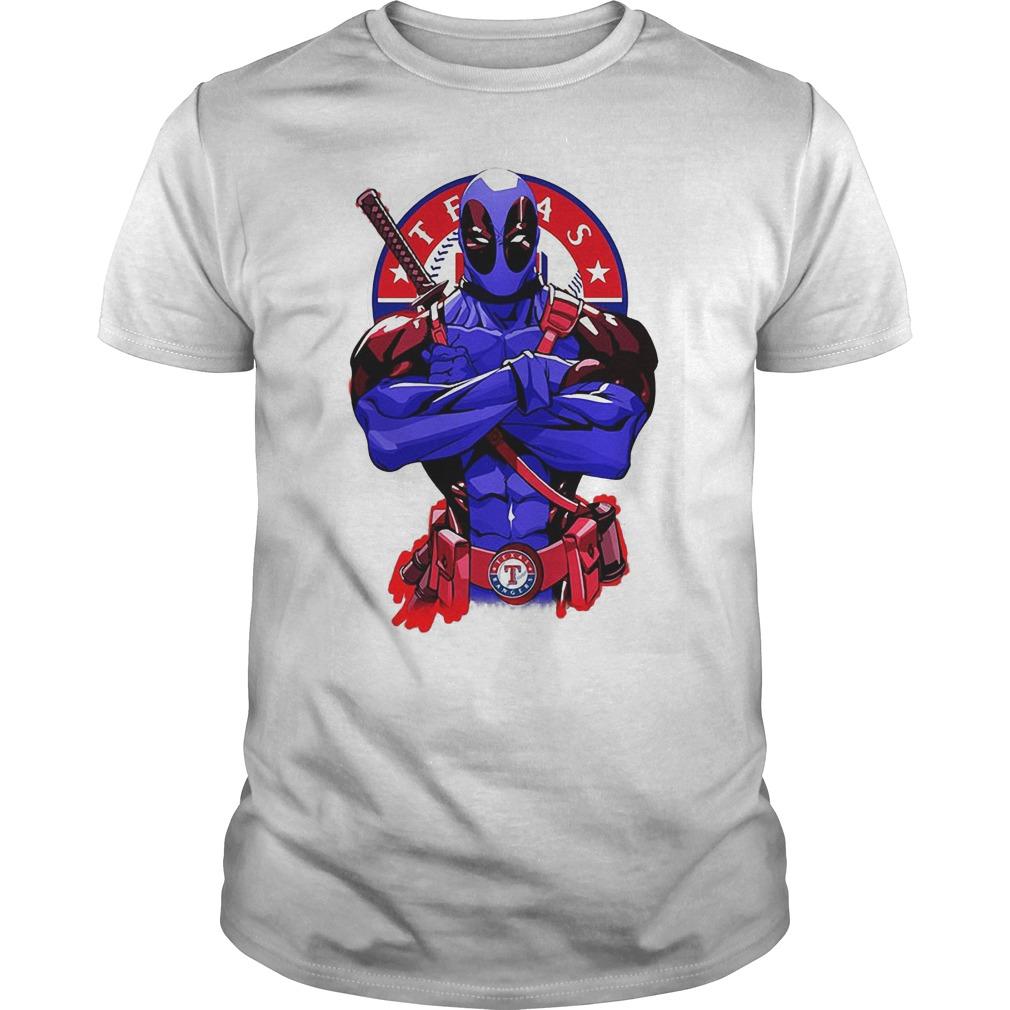 Giants Deadpool Texas Rangers Shirt Hoodie Sweater