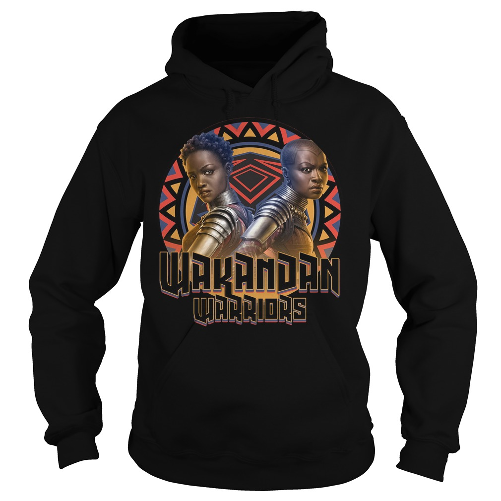Marvel Black Panther Movie Warrior Circle Graphic Hoodie