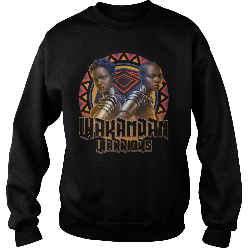 Marvel Black Panther Movie Warrior Circle Graphic Sweater
