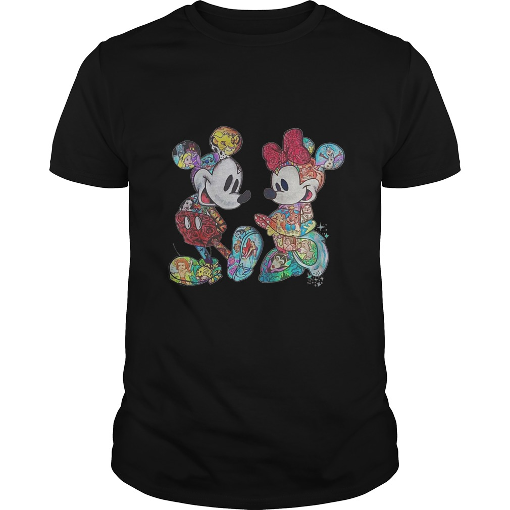 Mickey Mouse & Minnie Mouse Tattoo Guy Tee