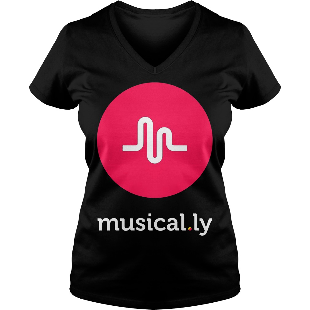 Musically Black Ladies Vneck