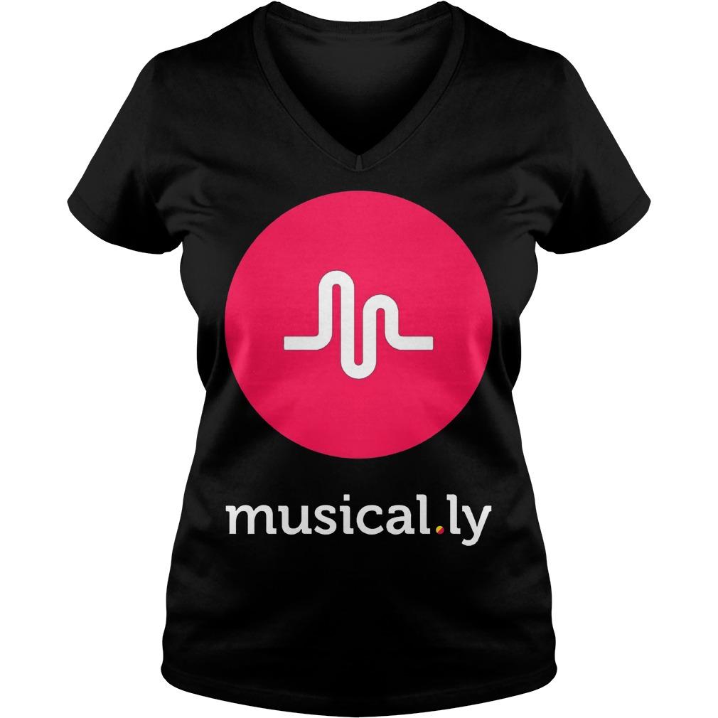 Musically Black Ladies Vneck
