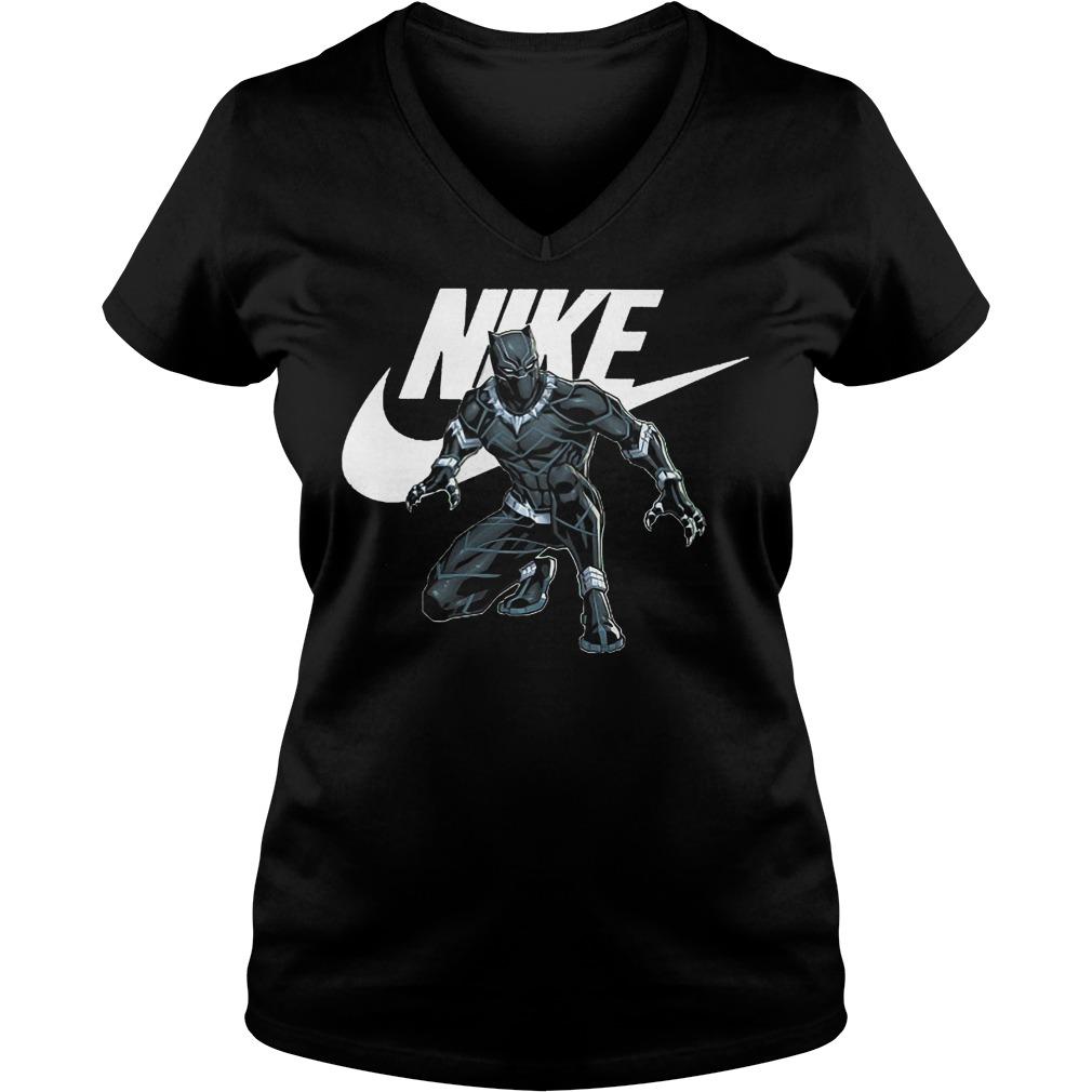 Official Nike Black Panther Ladies Vneck