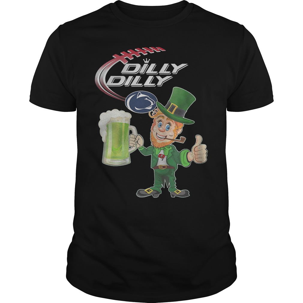 Penn State Nittany Lions Dilly Dilly Leprechaunst Patricks Day Shirt Guy Tee