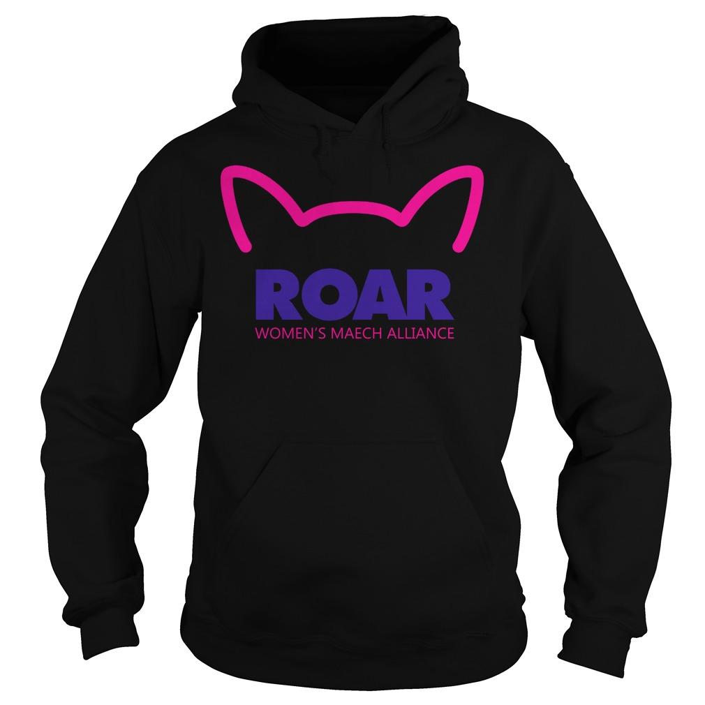 Pussy Roar Womens March Alliance Hoodi