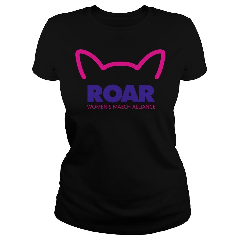 Pussy Roar Womens March Alliance Ladies Tee