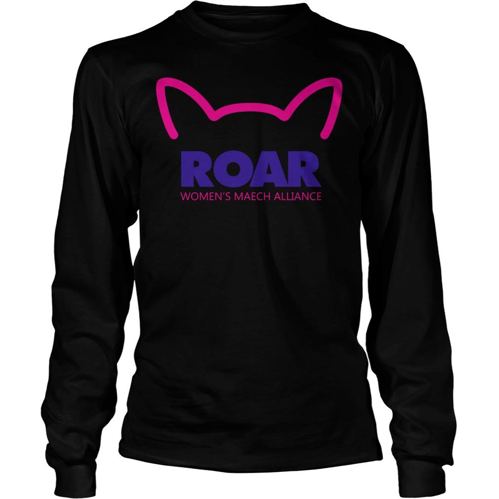 Pussy Roar Womens March Alliance Longsleeve