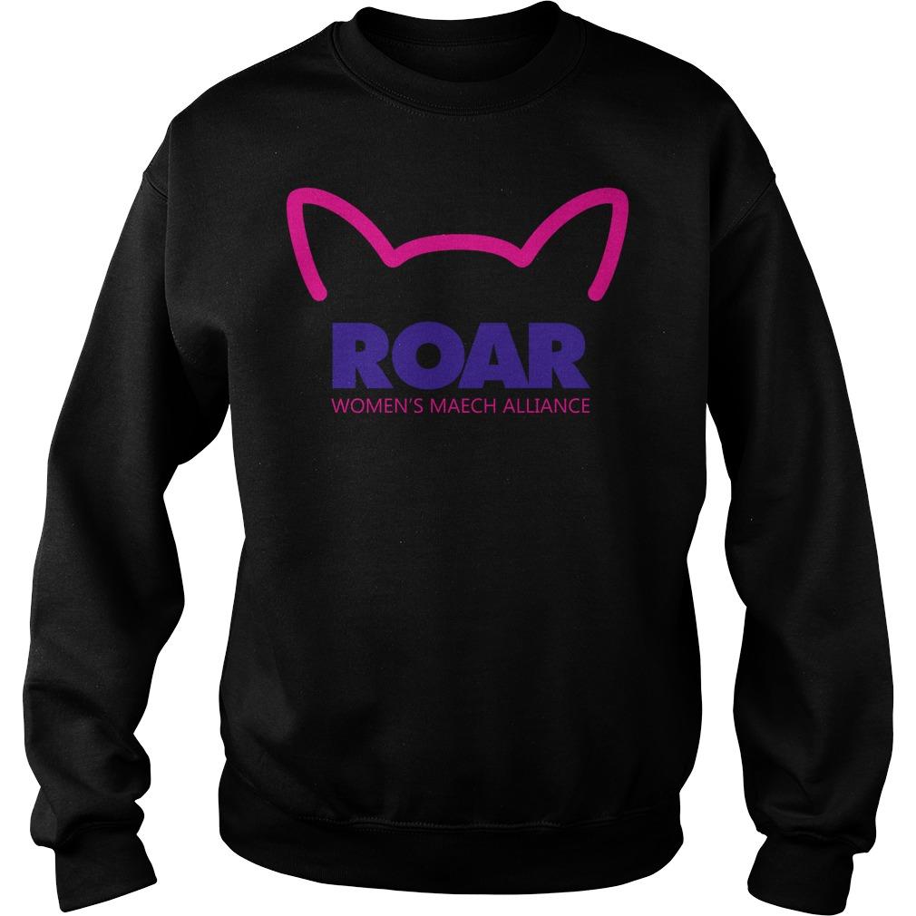Pussy Roar Womens March Alliance Sweater
