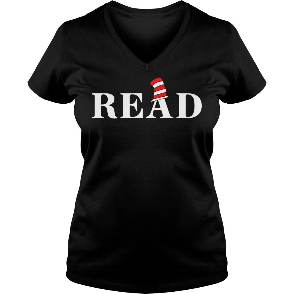 Read Book Lover Gift Ladies Vneck